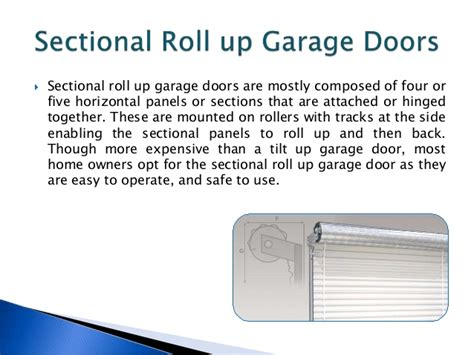 the advantages of using garage advantages and disadvantages of garage lift door types