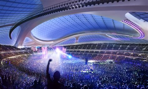 japan bid tokyo 2020 olympic stadium architect plans new design