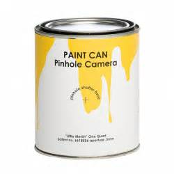 pinhole can paint can pin photography for