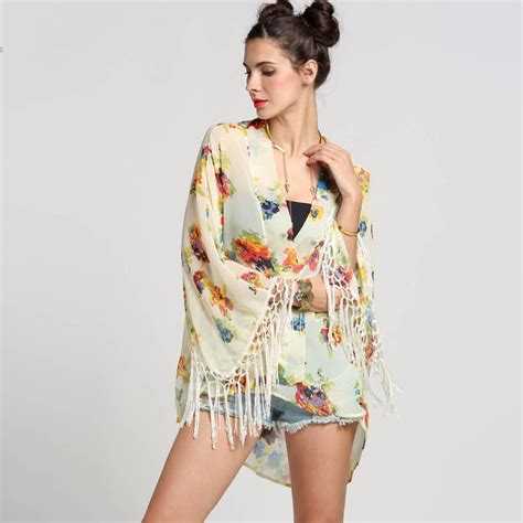 kimono jackets as a summer fashion trend for women over 60 summer style 2016 women tops fashion long sleeve floral