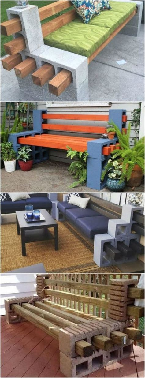 panchine in muratura cinder block bench seat the whoot