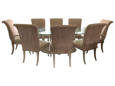 Transparent Dining Chairs Marge Carson Dining Set Chairish