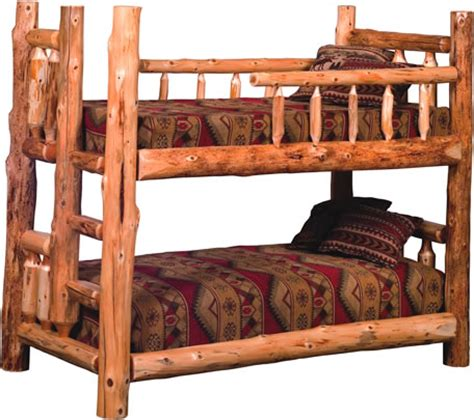 log bed kits cedar log bed kits bunk bed rustic furniture mall by