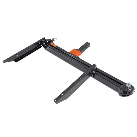 swing away hitch cargo carrier compare rola cargo carrier vs swing away arm etrailer com