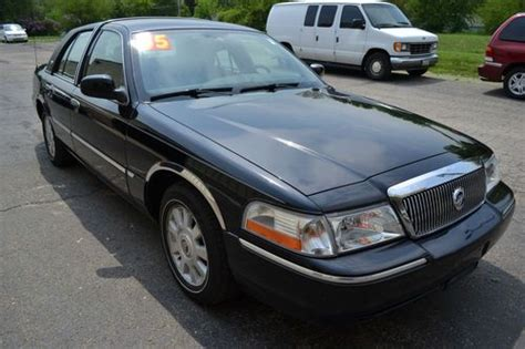 auto air conditioning service 2005 mercury grand marquis electronic toll collection purchase used 2005 mercury grand marquis ls sedan 4 door 4 6l in plainfield illinois united states