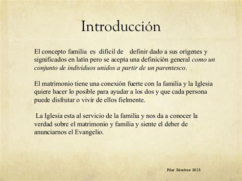 familiaris consortio 22 de noviembre de 1981 resumen de la enc 237 clica sobre la familia