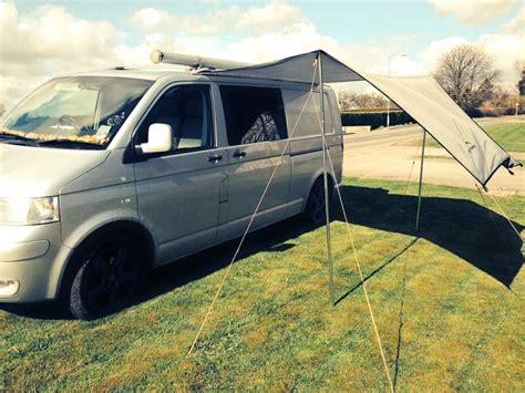 Driveaway Awning Camper Canopy Tarp Grey