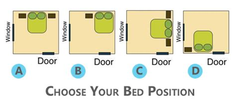 bed placement top 10 feng shui rules for bedroom