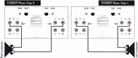 4 channel bridged speaker wiring diagram 4 free engine