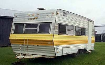 has anyone ever converted an old travel trailer into a
