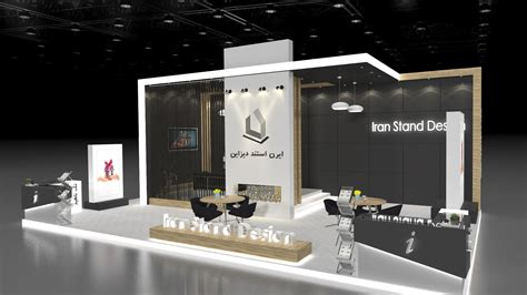 design stand booth wooden stand design
