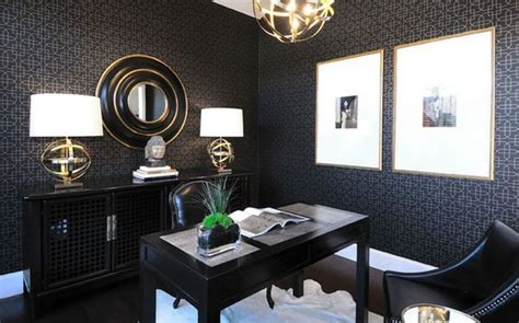 The Office Black by Black And Gold A Luxury Combination You Must Follow This