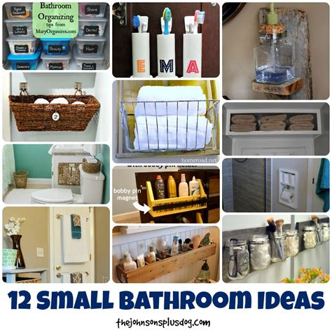 small bathroom organizing ideas 12 small bathroom ideas the johnsons plus