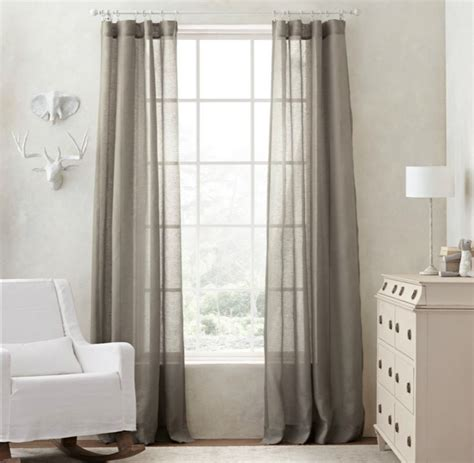 Gray Curtains For Nursery Thenurseries Curtains Baby Nursery