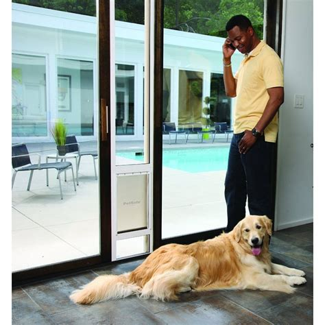Patio Pet Door Petsafe Freedom Patio Panel Pet Door For 81 Quot Doors Free Shipping