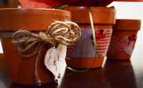 vasi decorati fai da te vasi fai da te in stile country tweedot