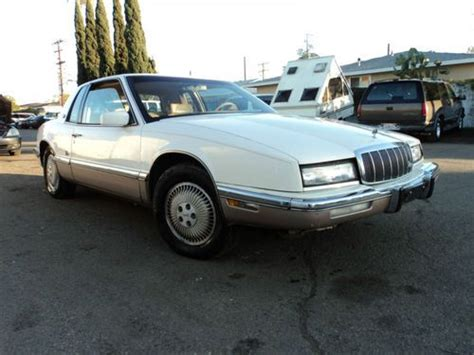 manual cars for sale 1991 buick riviera seat position control purchase used 1991 buick rivera no reserve in palmdale california united states