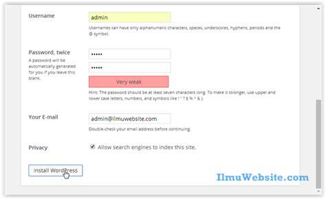 wordpress wpdb tutorial perkenalan dan installasi wordpress tutorial wordpress