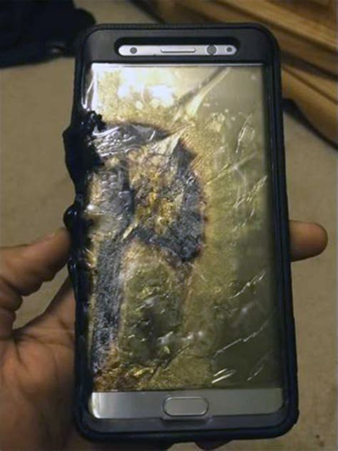A Samsung Galaxy S10 Has Exploded by Samsung Galaxy Note 7 Second Replacement Catches The Independent