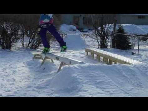backyard skiing backyard ski and snowboard session youtube