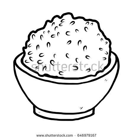 bowl of rice black white line art tatoo tattoo white rice clipart collection