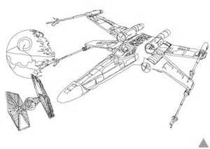 Ausmalbilder X Wing  Kostenlos Bilder Zum Ausmalen sketch template