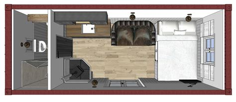 English Cottage Floor Plans Shipping Container Office Timberpad Ltd