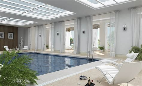 enclosed pool designs indoor pools