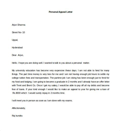 How To Write A Personal Cover Letter how to write a personal letter format cover letter templates