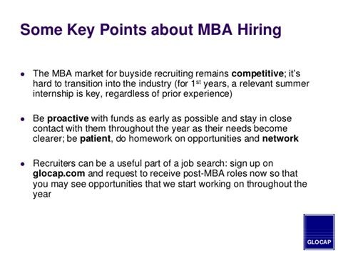 Mba To Get Into Equity by 2014 Mba Guide To Hiring In The Equity Venture