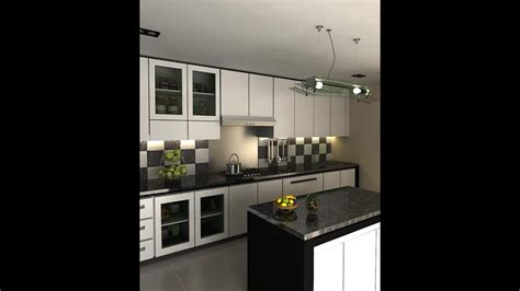 black  white kitchen designs ideas youtube