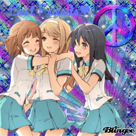 Anime 3 Friends by Friends Picture 112087256 Blingee