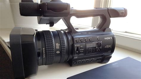 Sony Camcorder Pxw Z150 sony pxw z150 compact professional camcorder announced