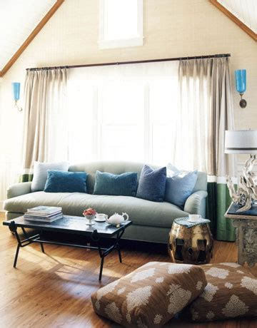 Blue Brown Beige Living Room by Frank Roop Nantucket Living Room Blue Brown Beige