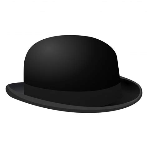How To Make A Bowler Hat Out Of Paper - silhouette symbol of bowler hat free stock photo