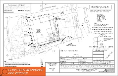 residential site plan site plan surveys system atlanta