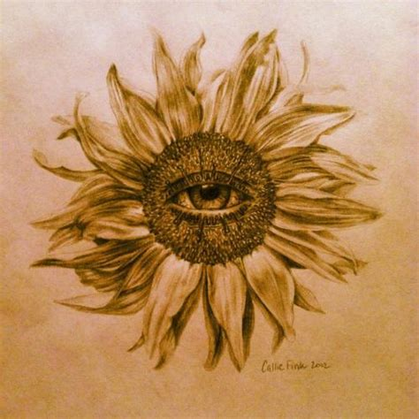 sunflower tattoo tumblr sunflower on