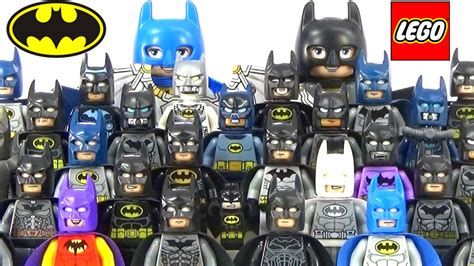 New Lego Batman Bat Reggae Suit Minifig Dc Minifigure From 70923 every lego batman minifigure complete collection 2016