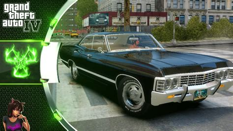 supernatural 1967 chevrolet impala supernatural chevrolet impala 1967 gta 4 car mod