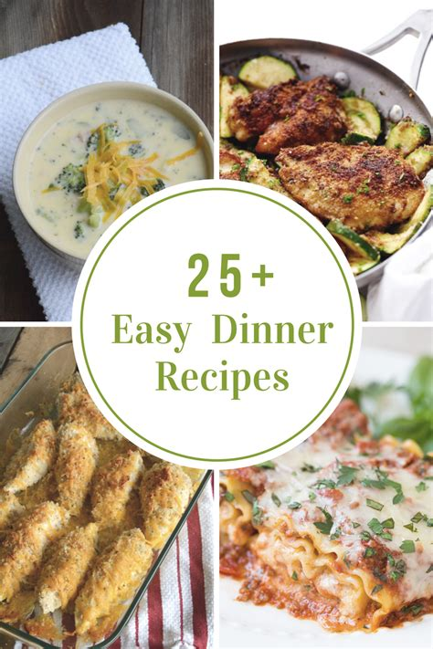 easy dishes for dinner easy weeknight dinner recipes the idea room