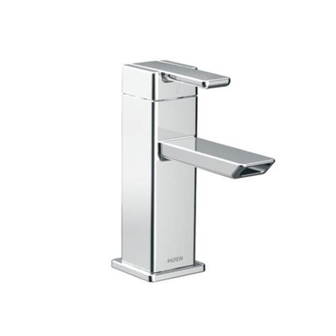 moen 90 degree bathroom faucet faucet com s6700 in chrome by moen