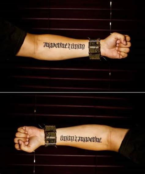 tattoos for men on lower arm arm font ideas and arm font designs page 4