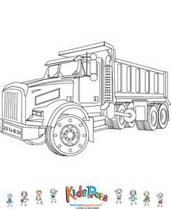 Dump Truck Coloring Page  KidsPressMagazinecom sketch template