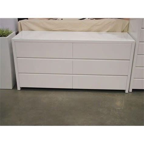 white gloss bedroom dresser mobital blanche dresser blanche double dresser in high
