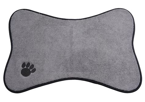 mats on dogs microfiber mats mat pet mats small medium bowl place mat with paw imprint design
