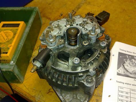alternator diode stator rotor tester leo alternator car testing