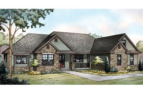 ranch homes ranch house plans manor heart 10 590 associated designs