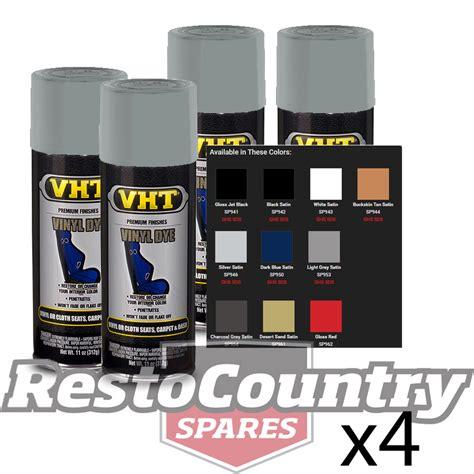 spray paint dying light vht spray paint vinyl dye light grey satin x4 gray seat