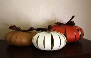 paper pumpkins a quick and easy autumn craft one good