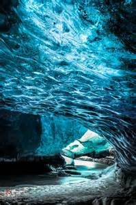 Crystal Cave Iceland by River Exit Crystal Caves Of Iceland My Turquoise